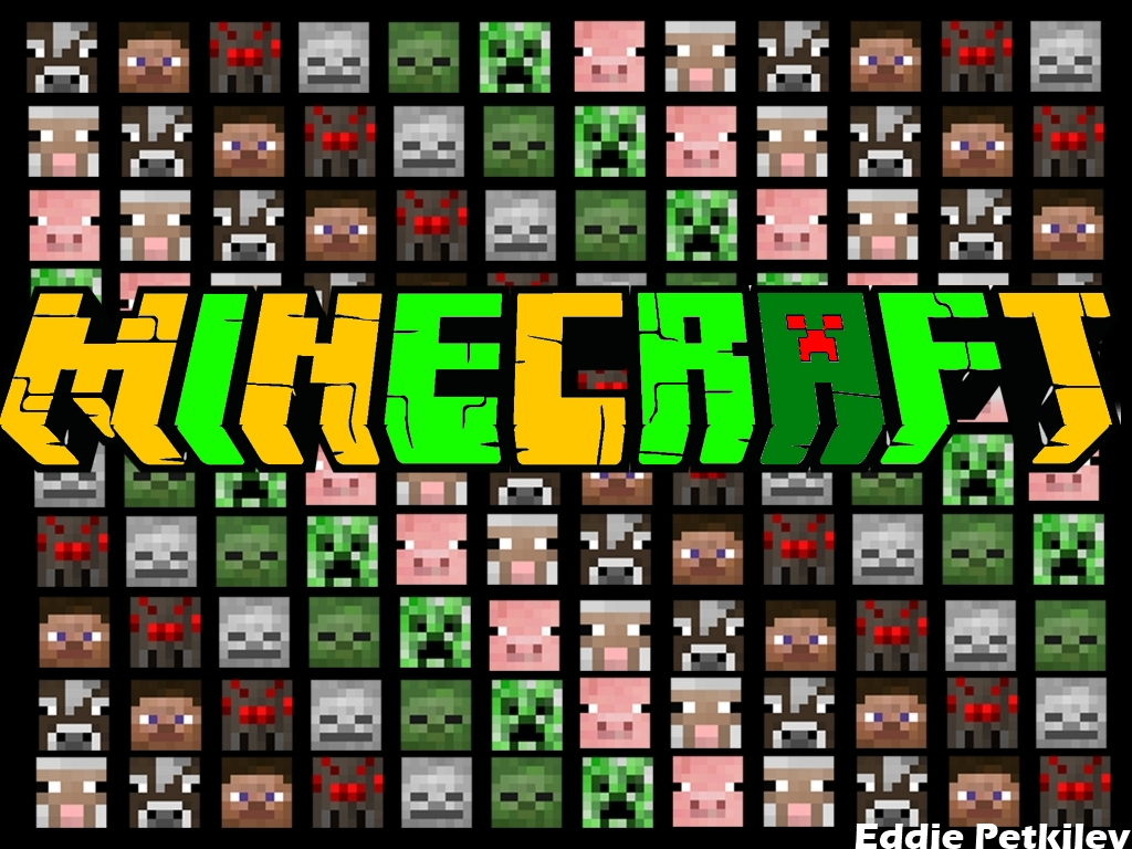 Free Download Minecraft Mobs Faces Wallpaper Images Pictures