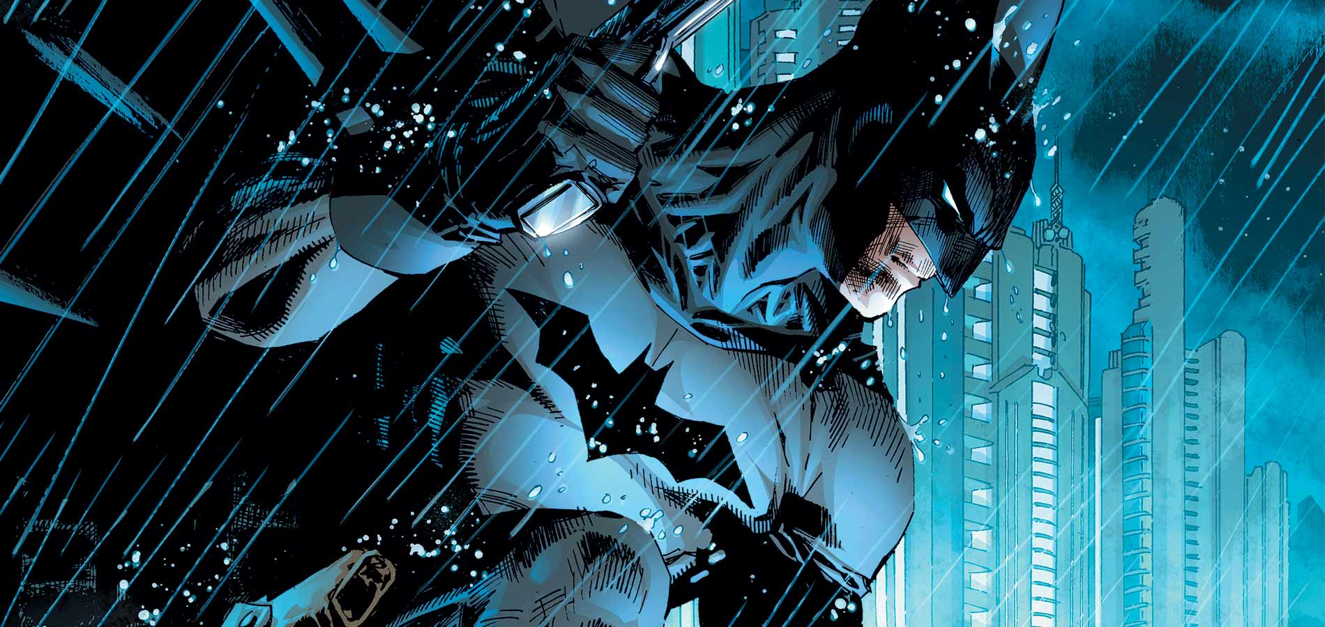 1900x900px Batman Jim Lee Wallpaper 1900x900