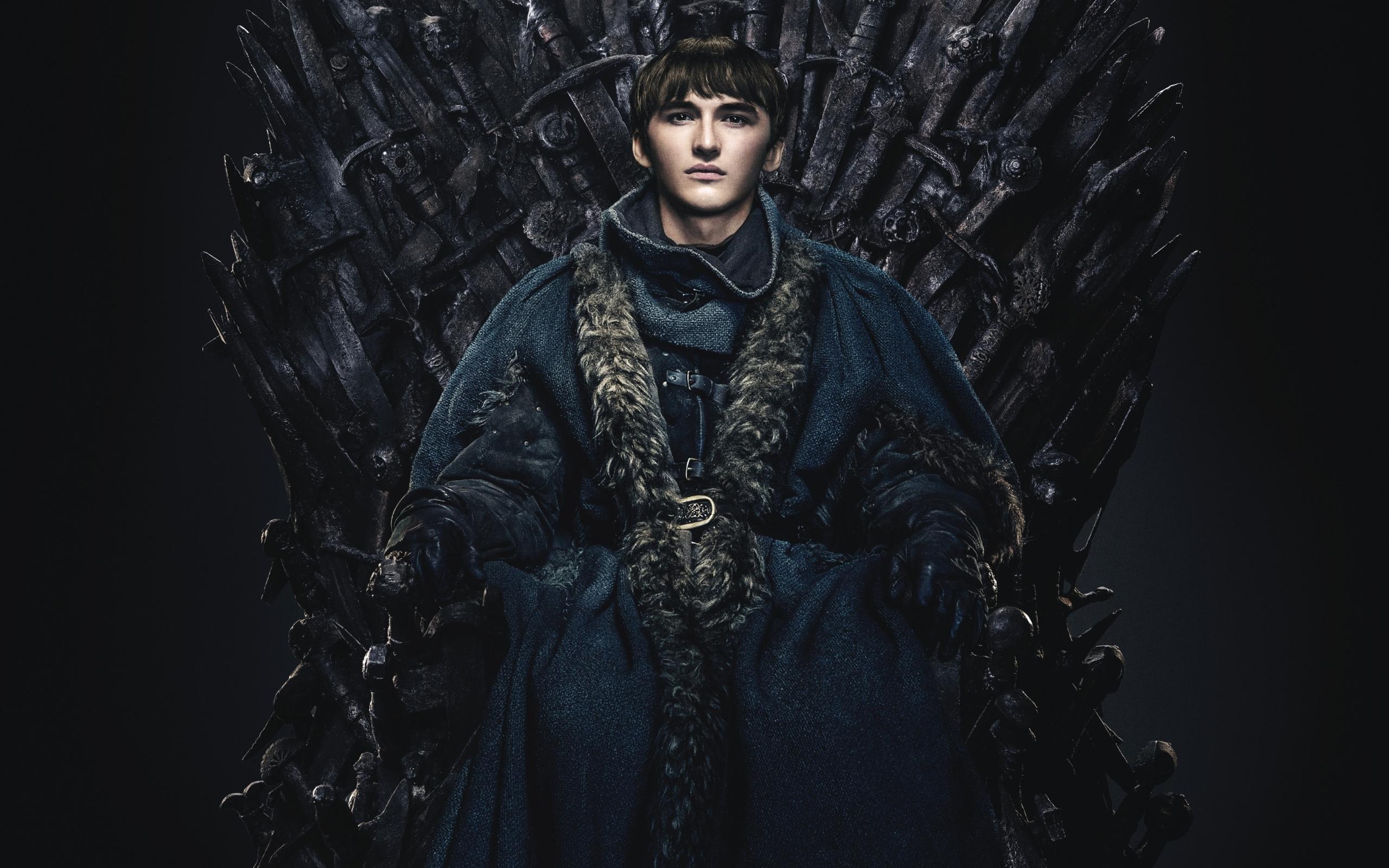Wallpaper of Bran Stark Isaac Hempstead Wright Game of Throne 2560x1600