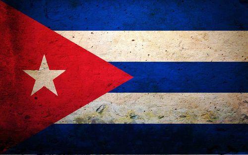 Widescreen Cuba Flag wallpaper 500x313