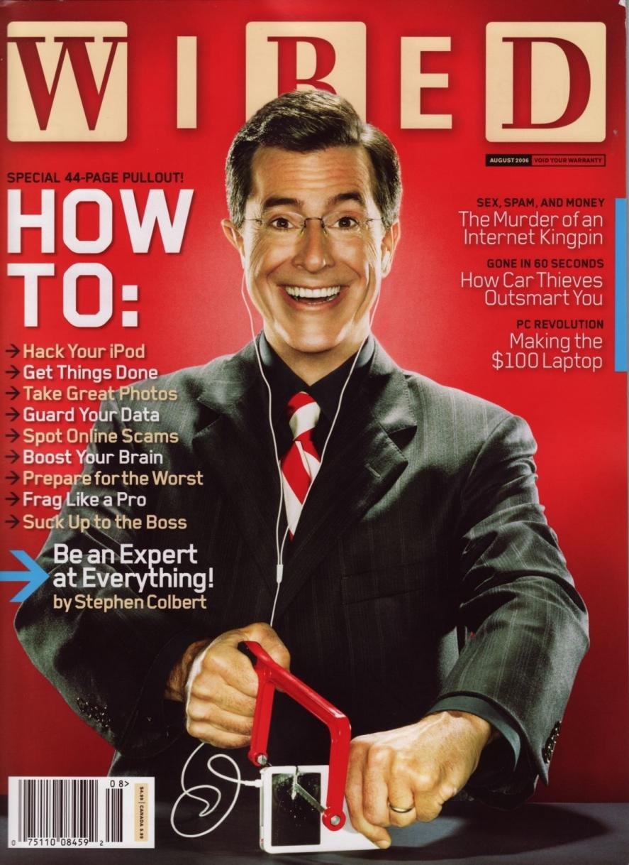 Stephen Colbert images Wired Magazine Scans HD fond dcran and 887x1218