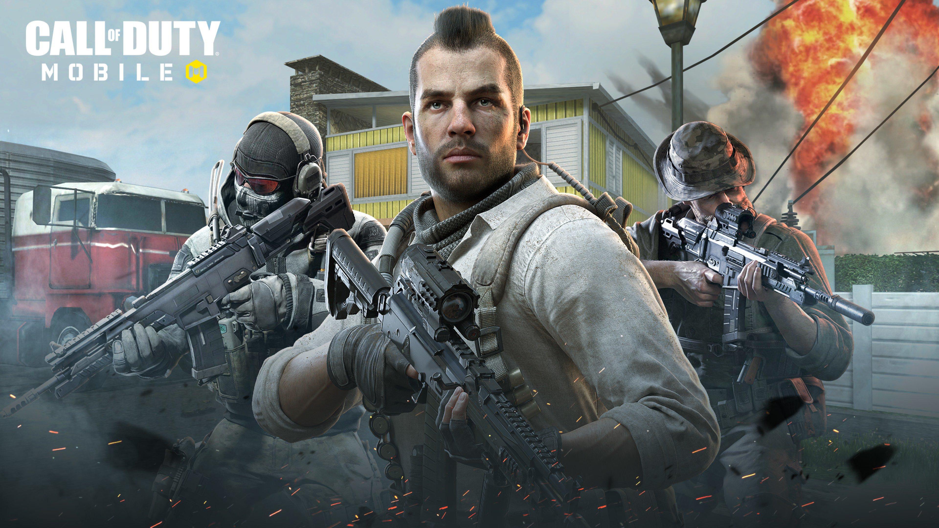 3840x2160 2019 Call Of Duty Mobile 4K Wallpaper HD Games 4K 3840x2160