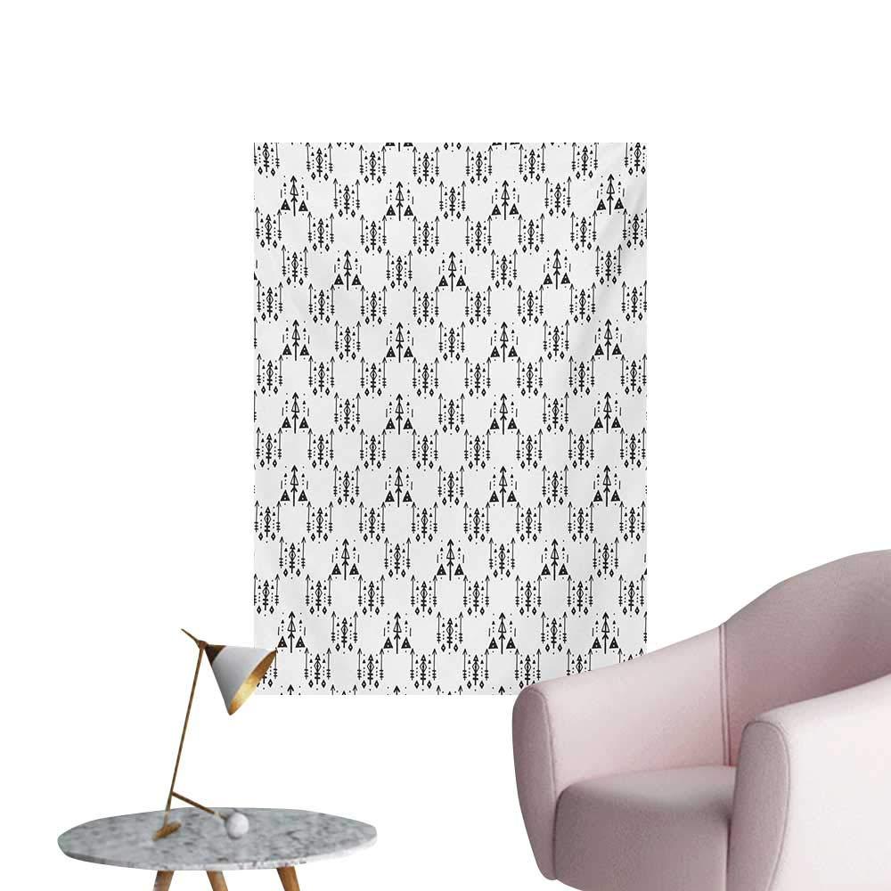 Amazoncom Anzhutwelve Tribal Wallpaper Arrow with Feathers Print 1000x1000