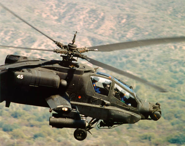 Apache Combat Helicopter computer desktop wallpapers 600x475