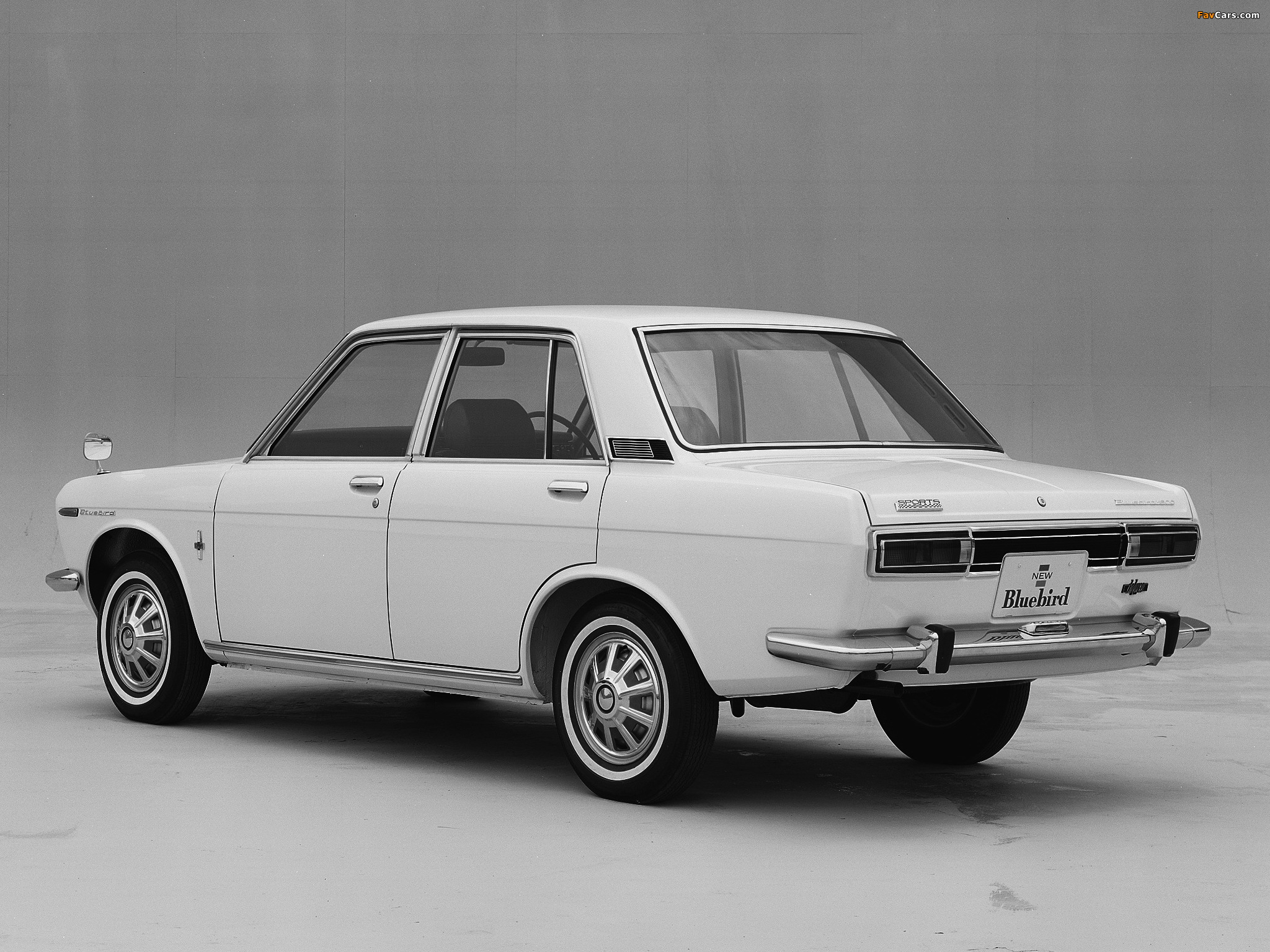 Wallpapers of Datsun Bluebird 4 door Sedan 510 196772 2048x1536