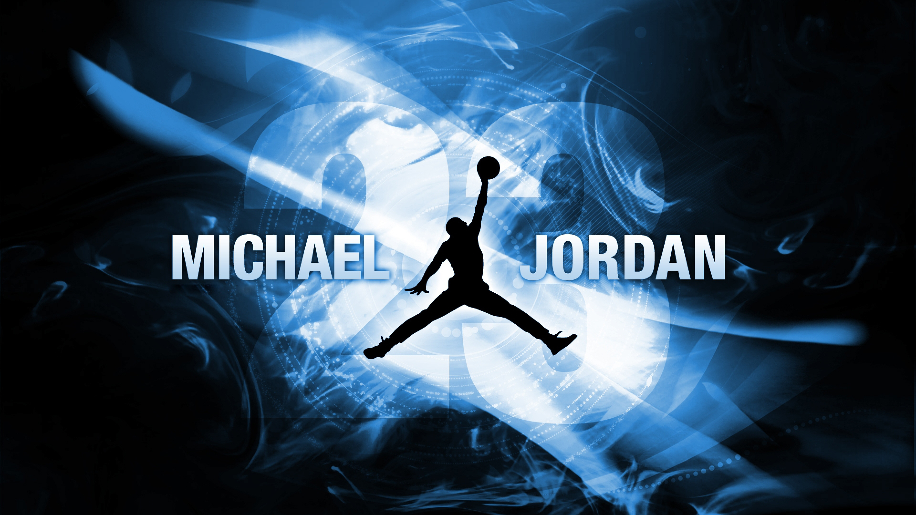 Download Wallpaper 3840x2160 michael jordan basketball player ball 3840x2160