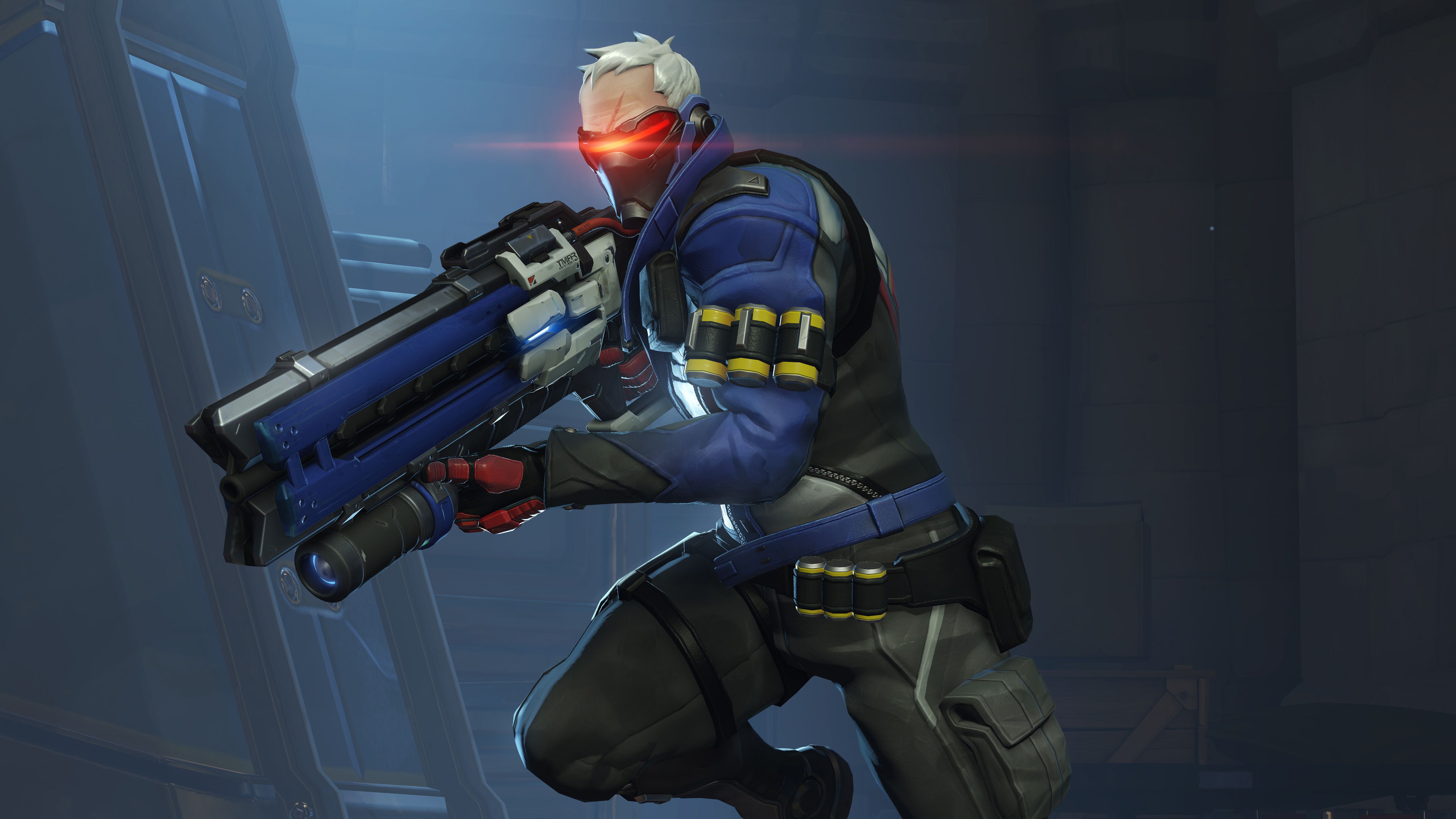 Overwatch Soldier 76 Wallpapers HD Wallpapers 5120x2880