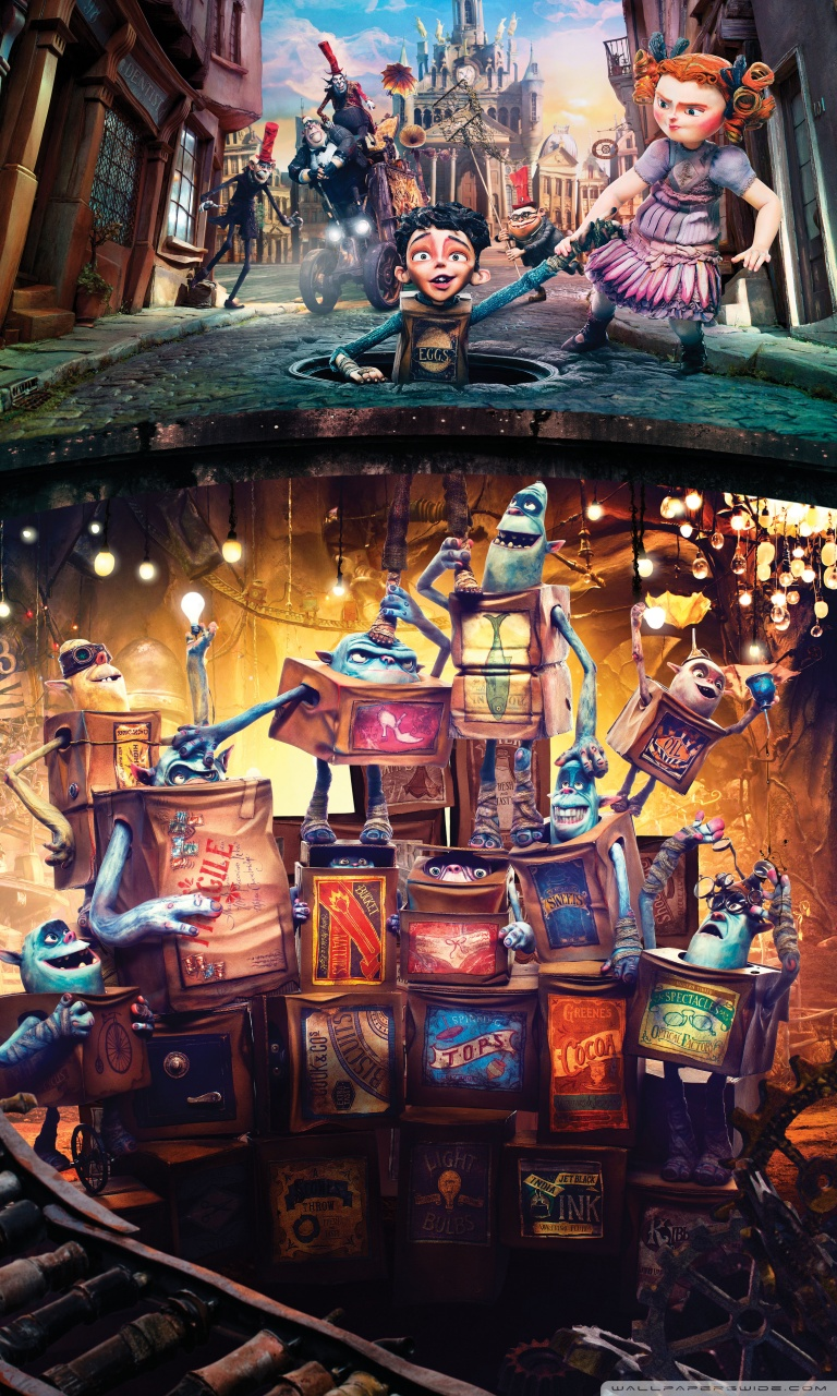 The Boxtrolls Hd Poster Wallpapers Wallpapers Clone 768x1280