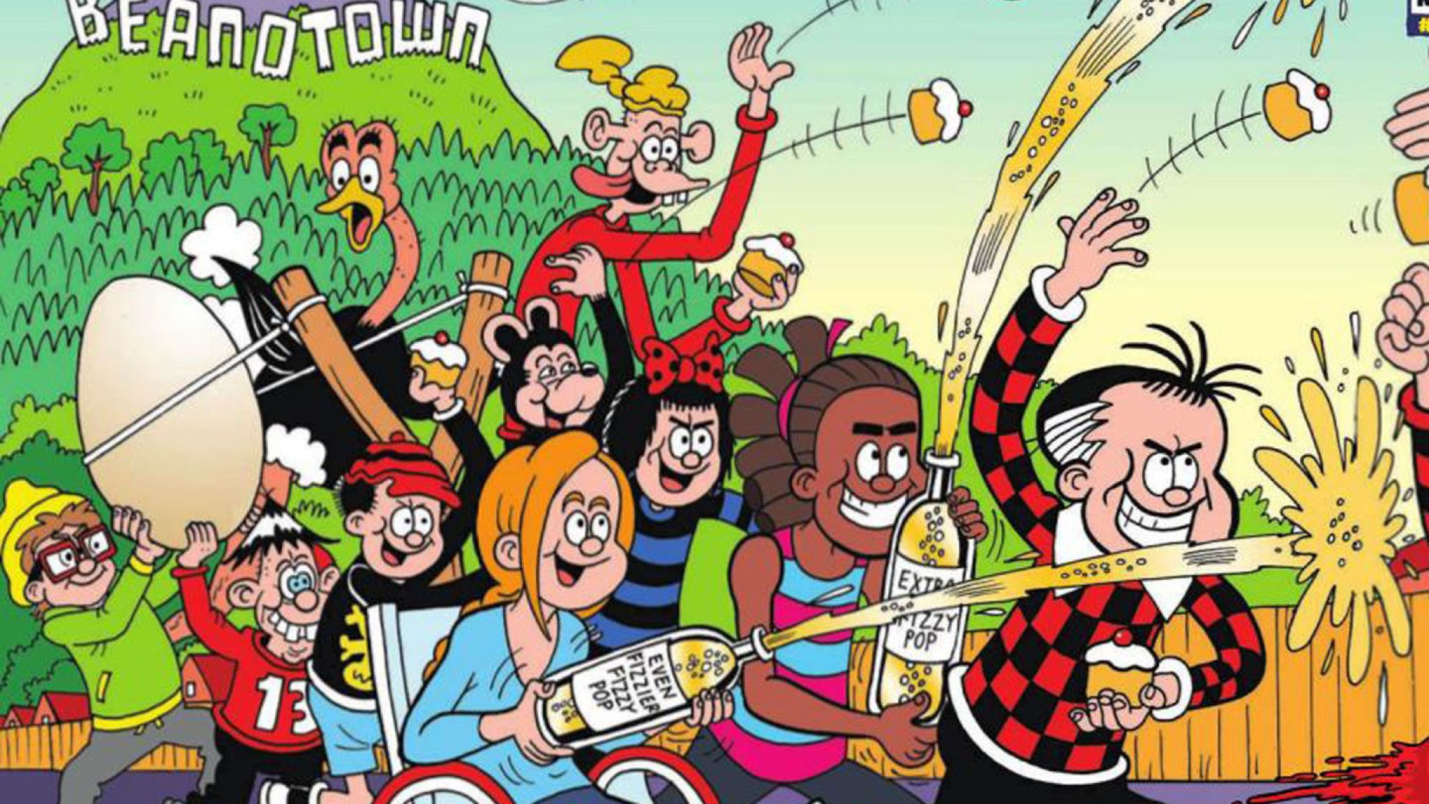 The Beano turns 80 How the comics characters have changed Ents 2048x1152