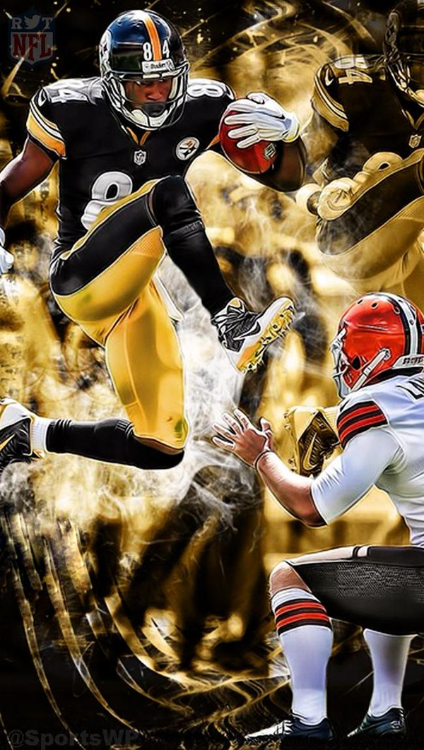 antonio brown wallpaper pic twitter com ss43byj5nx 600x1062