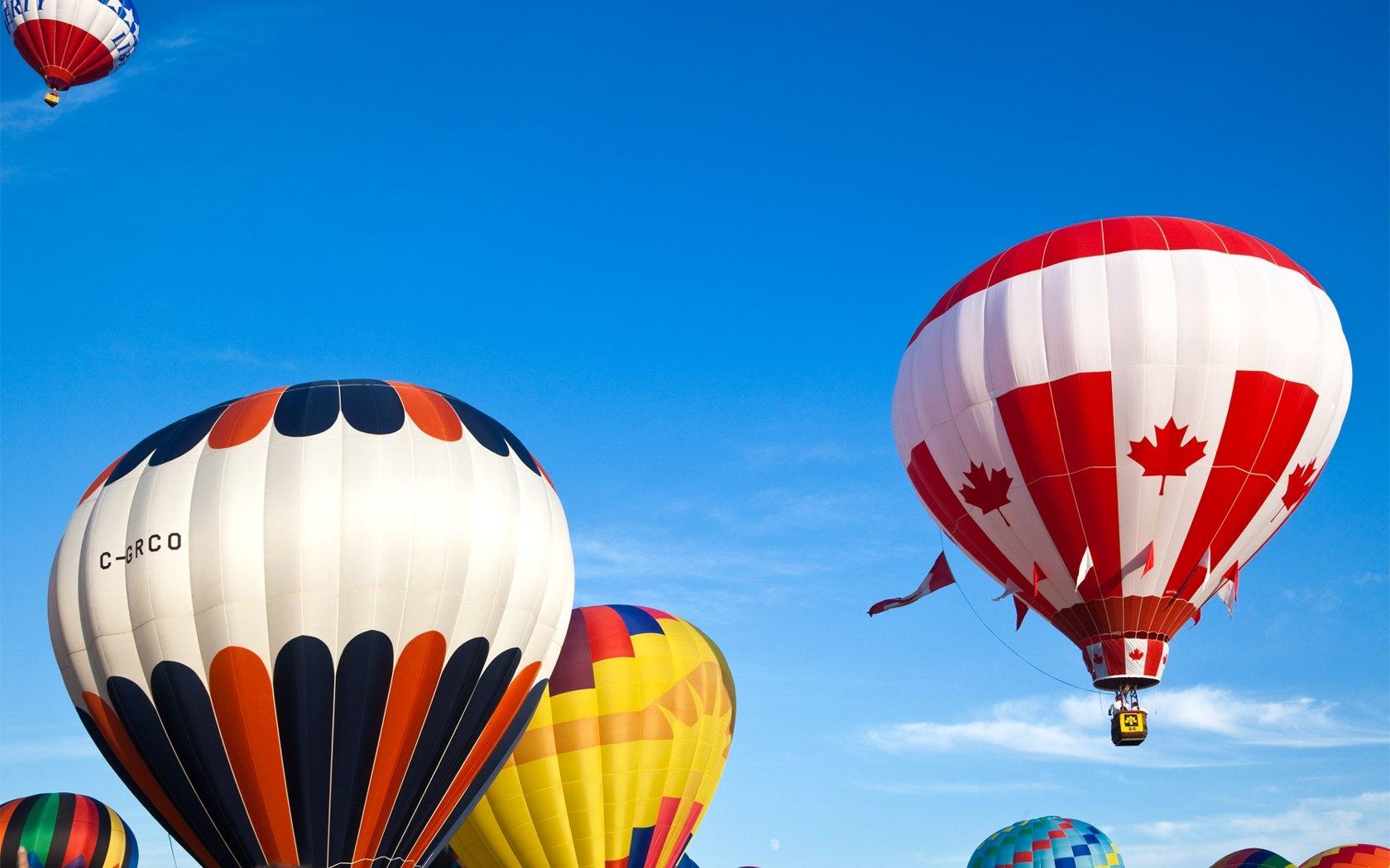 Colorful hot air balloon Wallpapers Wallpaper HD Desktop Wallpapers 1680x1050