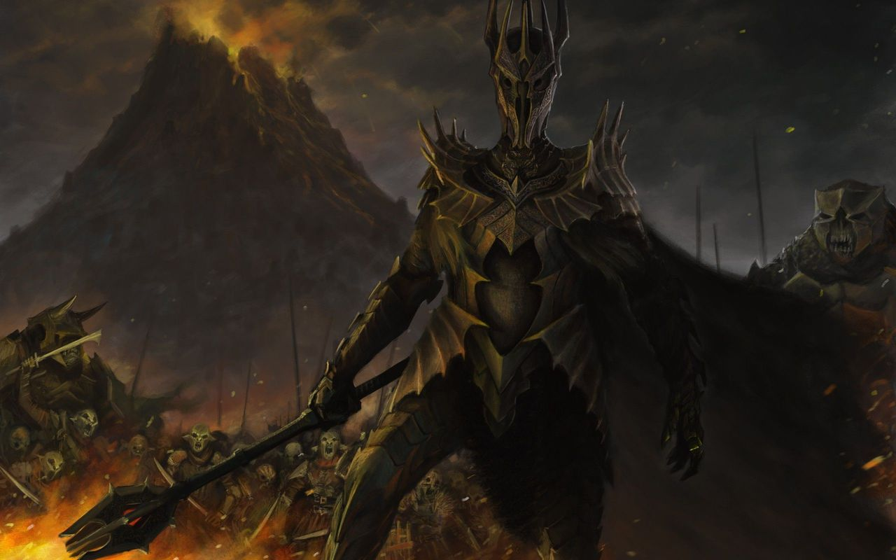 Sauron   The Lord of the Rings wallpaper 16532 1280x800