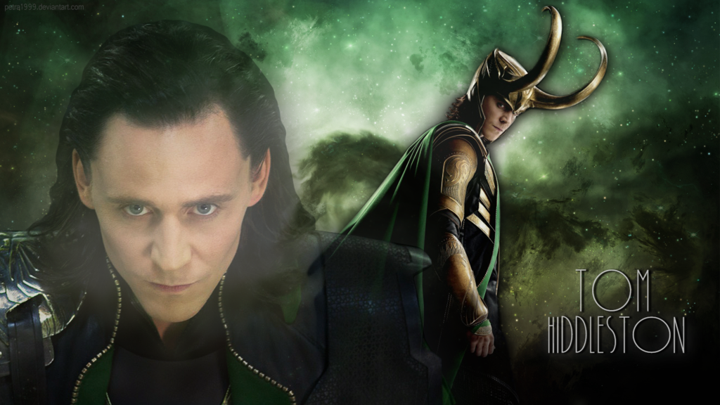 Tom Hiddleston as Loki Wallpaper by Petra1999 1024x576