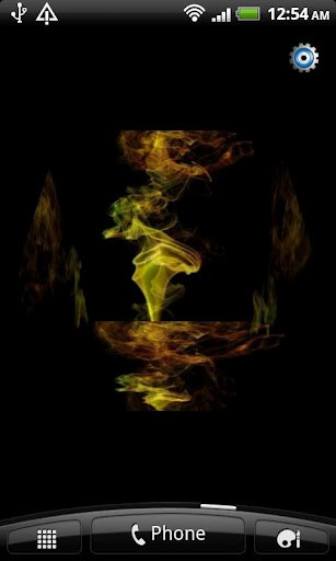 with an amazing Creative Animated Smoke 3D Photo Cube live Wallpaper 307x512