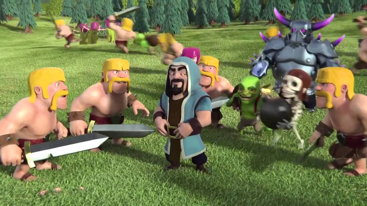 Clash of Clans Wizard Wallpapers Full HD Pictures 1280x720