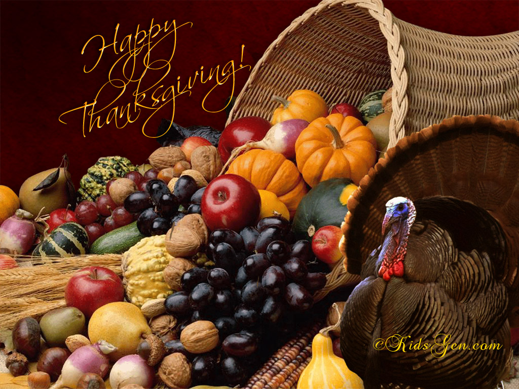 Thanksgiving Wallpapers Full Size 1024x768