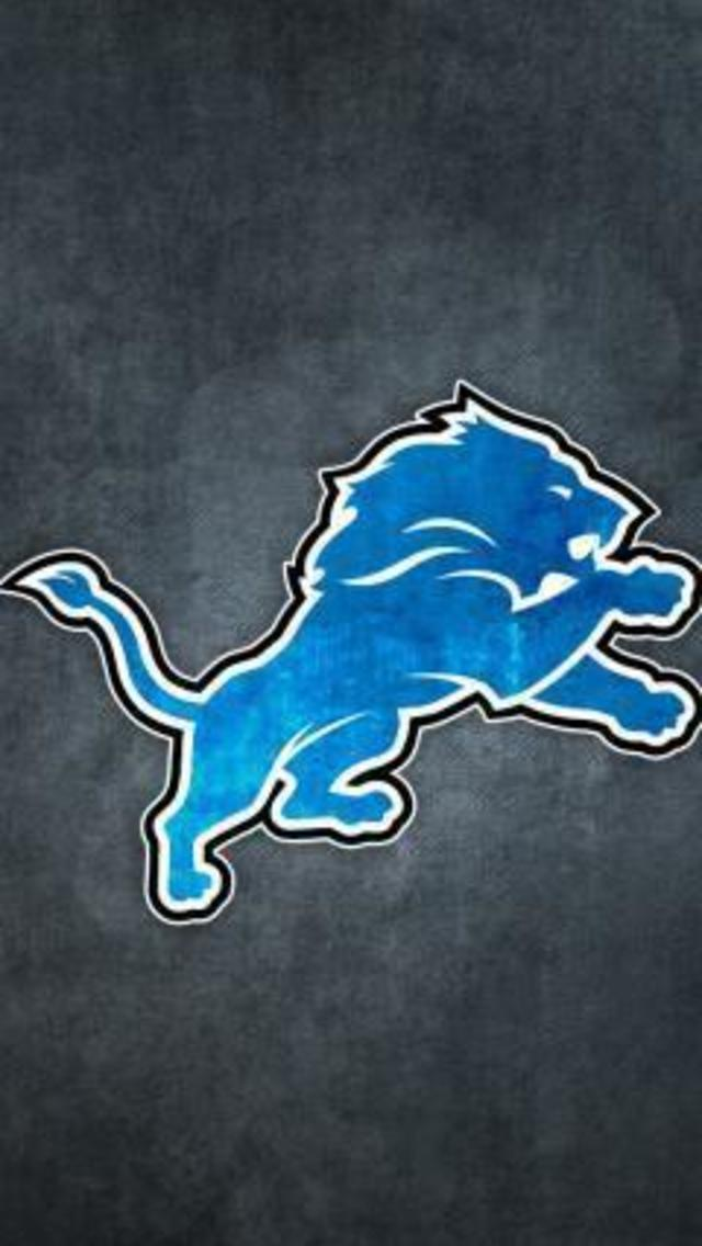 Detroit Lions Grungy Wallpaper for iPhone 5 640x1136