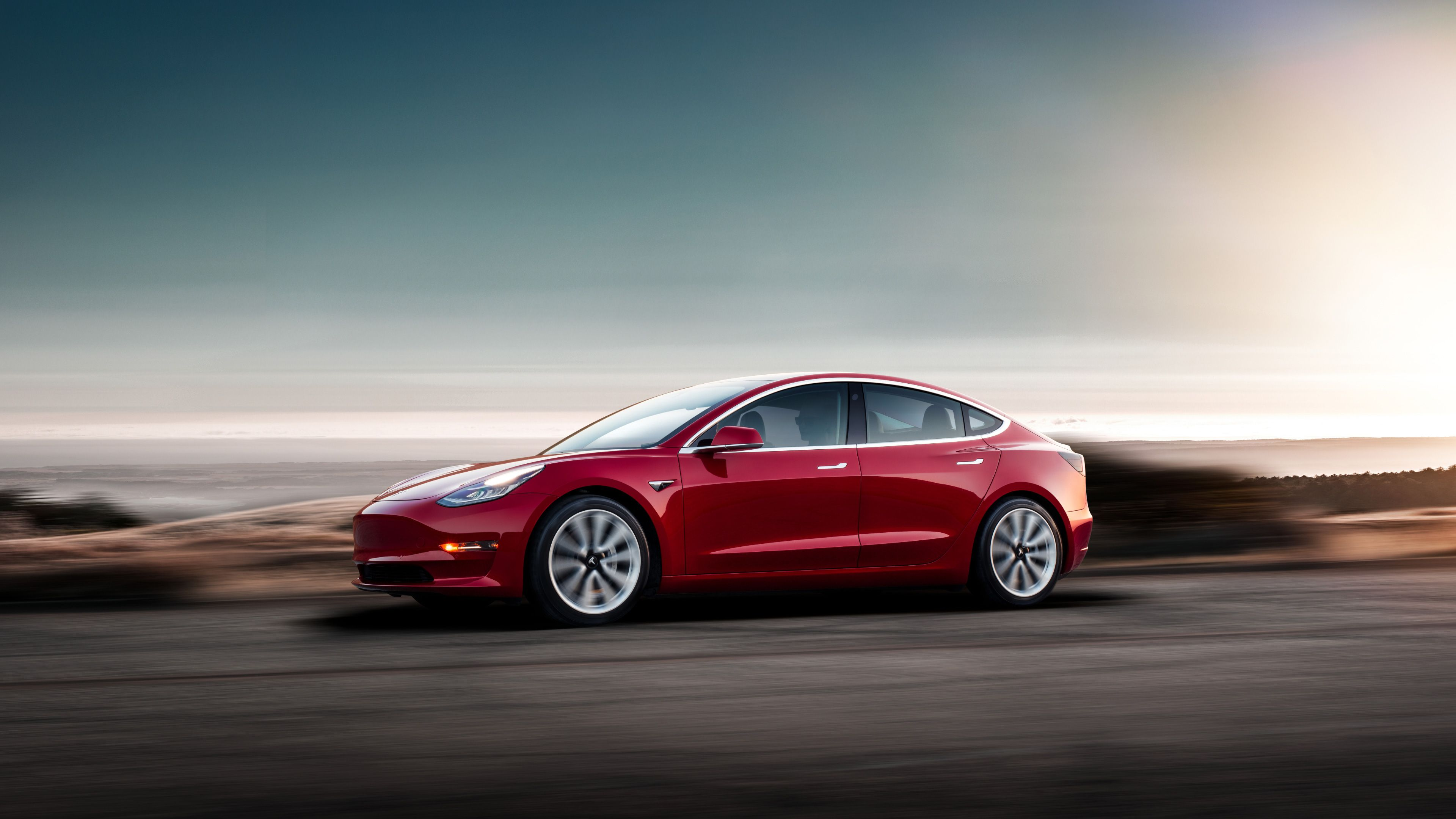 Tesla Model 3 Wallpapers   Top Tesla Model 3 Backgrounds 3840x2160
