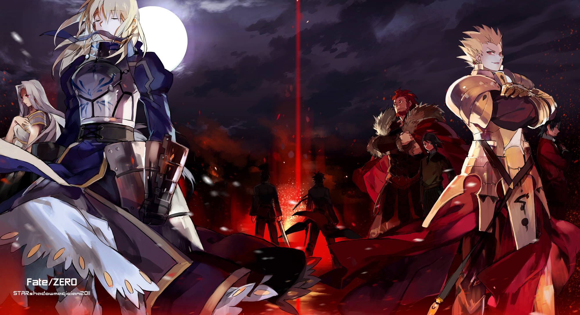 armor emiya kiritsugu fate stay night fate zero gilgamesh kotomine 2000x1087