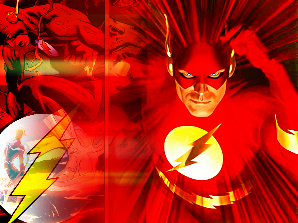 The Flash Wallpapers   Cartoon Wallpapers 1024x768