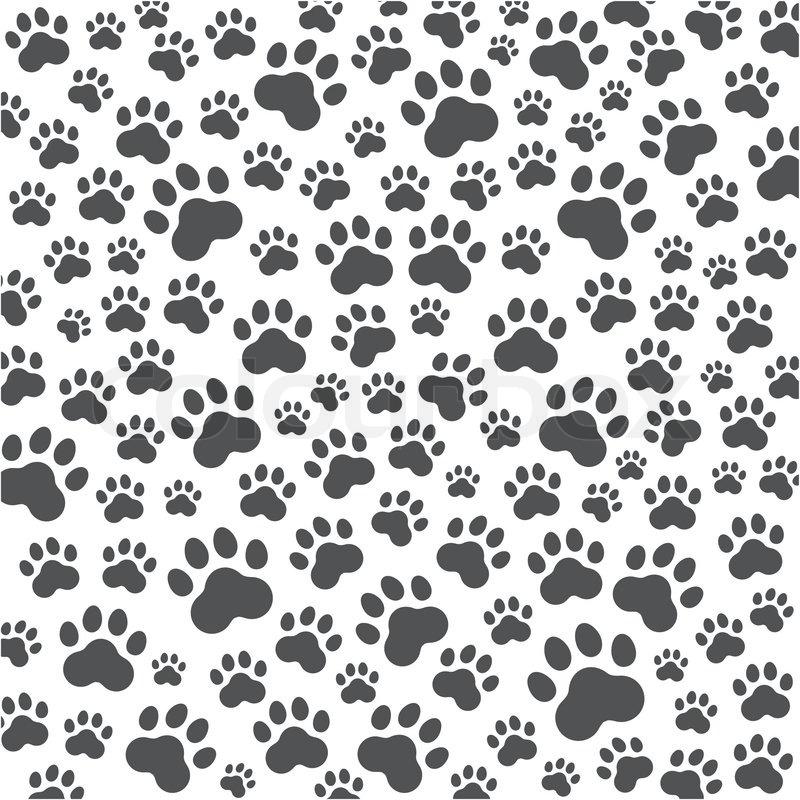 Dog Paw Background