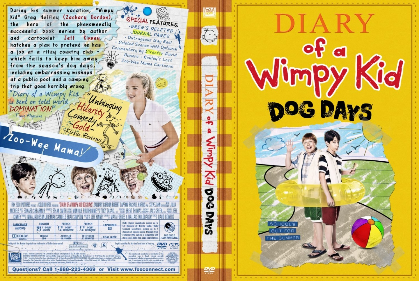 Diary Of Wimpy Kid Dog Days Cover Diary Of Wimpy Kid Dog Days 1440x967