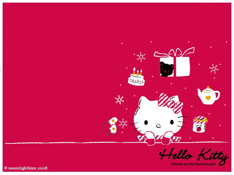 HELLO KITTY WALLPAPER CUTE hello kitty background wallpaper 800x600