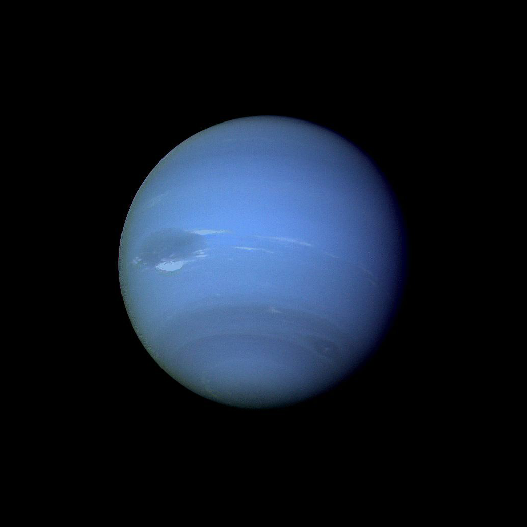 Voyager 2 Image of Neptune NASA 1041x1041