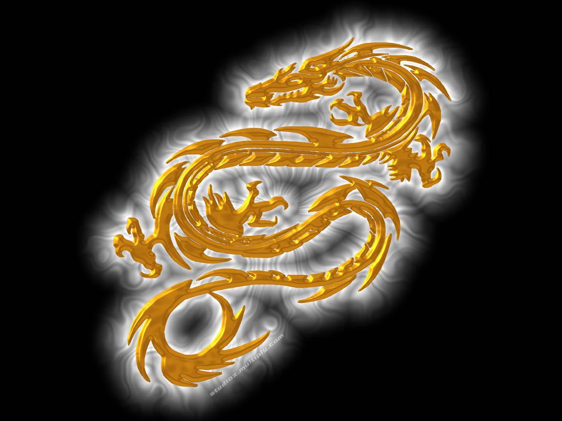 dragon art wallpaper dark theme myth lizard snake wings symbol 1152x864