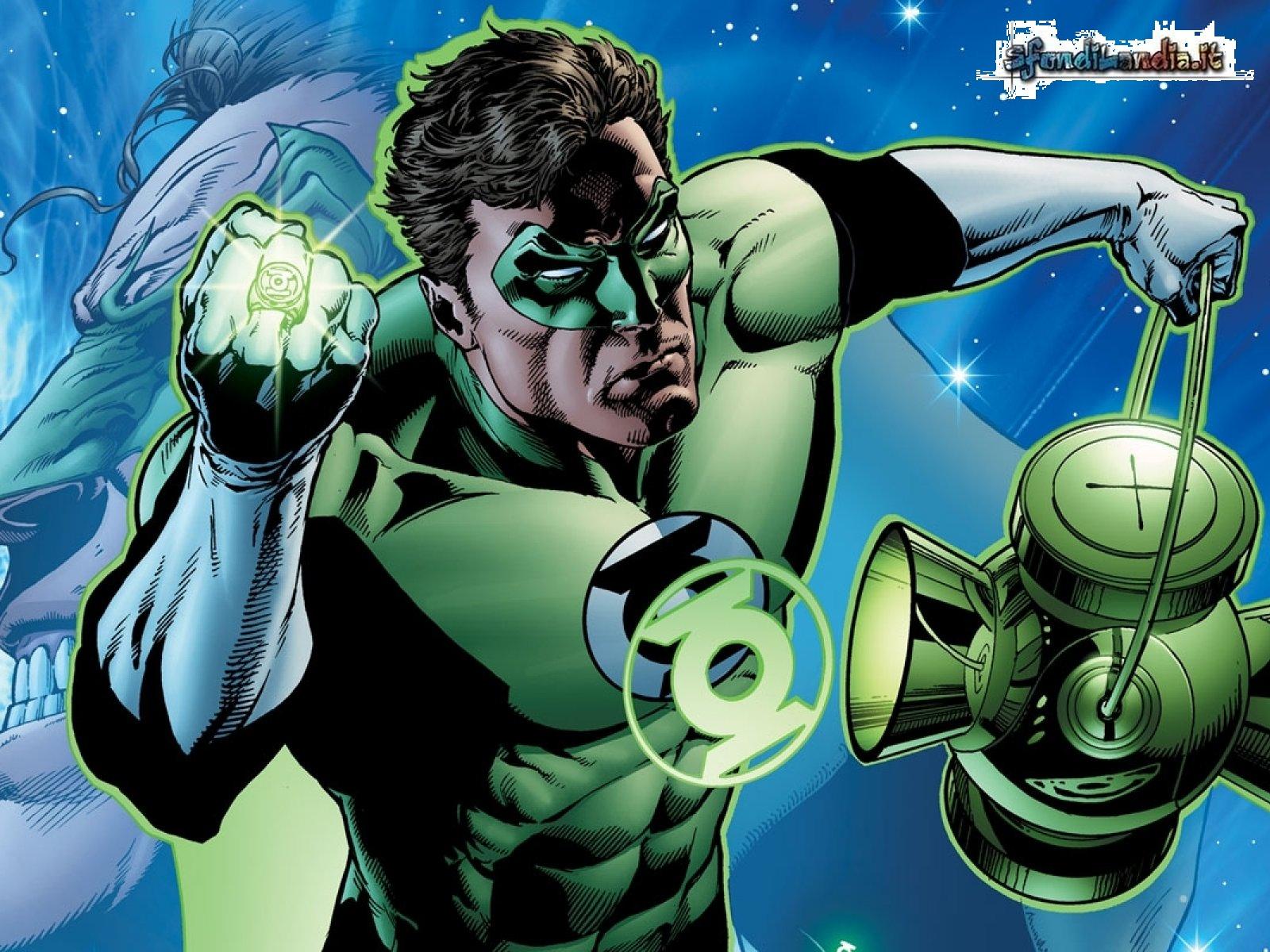 Green Lantern Comic Wallpaper: Green Lantern Wallpaper Screensaver