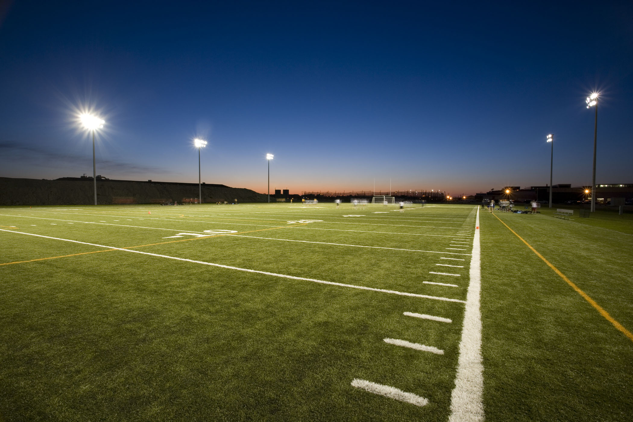 Football Field Wallpaper For Home