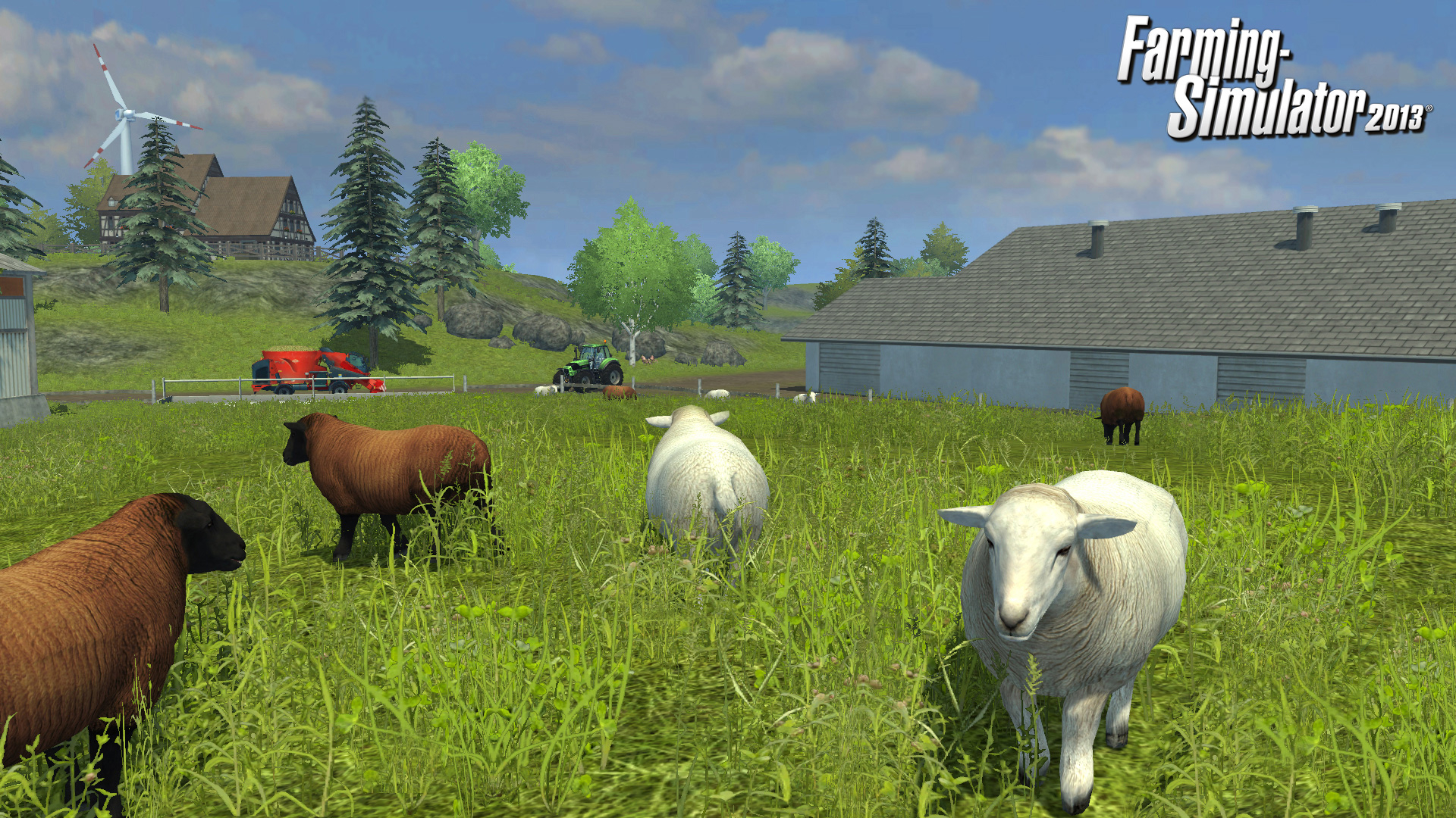 Farming Simulator 2013 video game wallpapers Wallpaper 6 of 21 1920x1080
