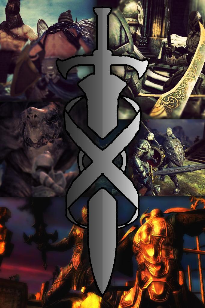 Infinity Blade Wallpaper iPhoneiPod Touch by RicochetOrange on 682x1024