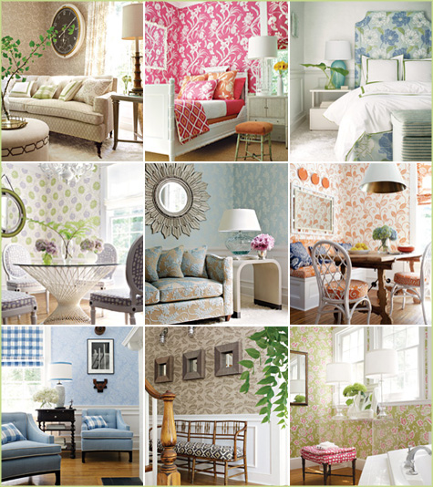 thibaut beautiful wallpaper dining room bedroom living room 475x534