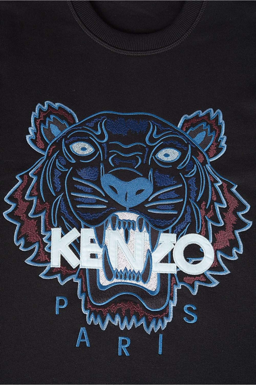 Kenzo Kenzo Tiger Logo Sweatshirt Black Kenzo From   Pull Kenzo 1000x1500