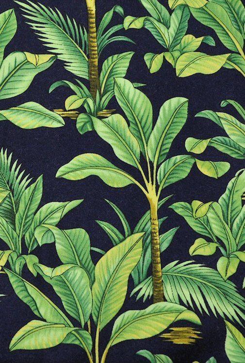 thevuas Hawaiian Tropical Beach Pattern Print Fun Craft Fabric 505x750