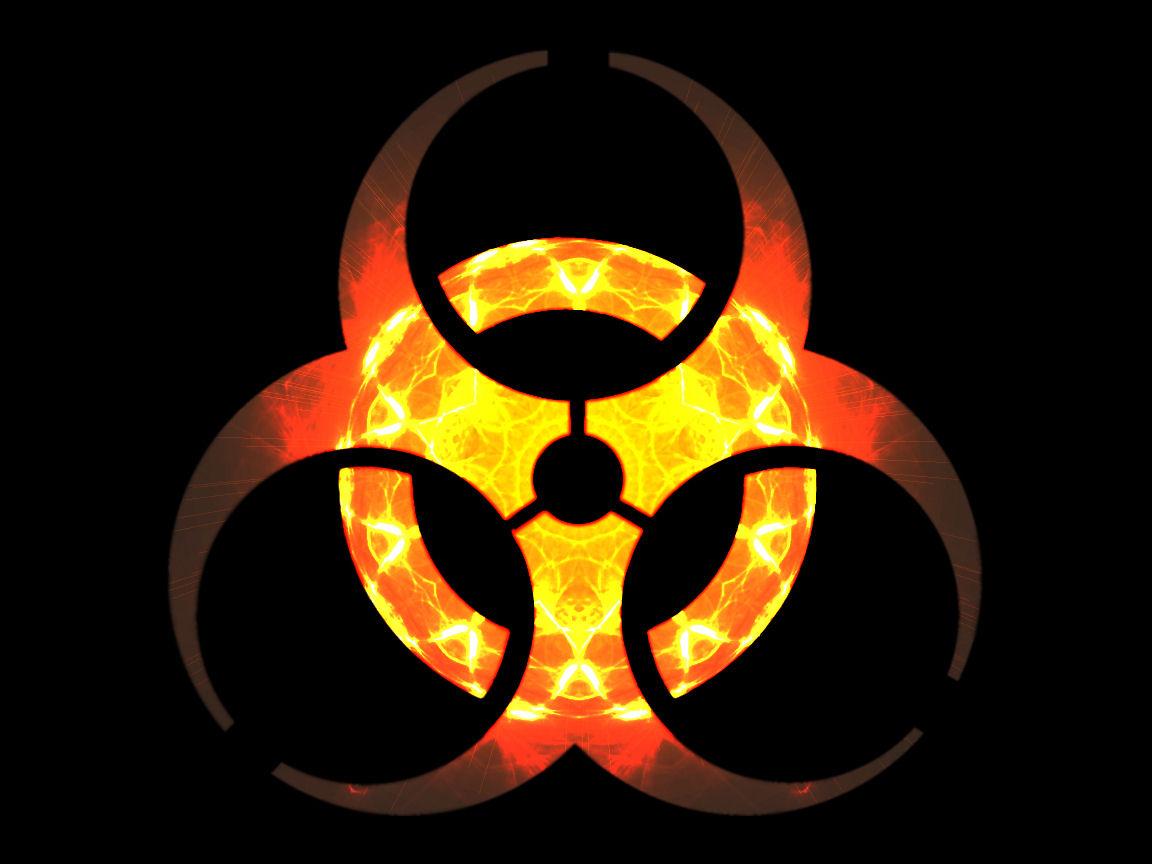 biohazard symbol wallpaper download Wallpaper Downloads 1152x864