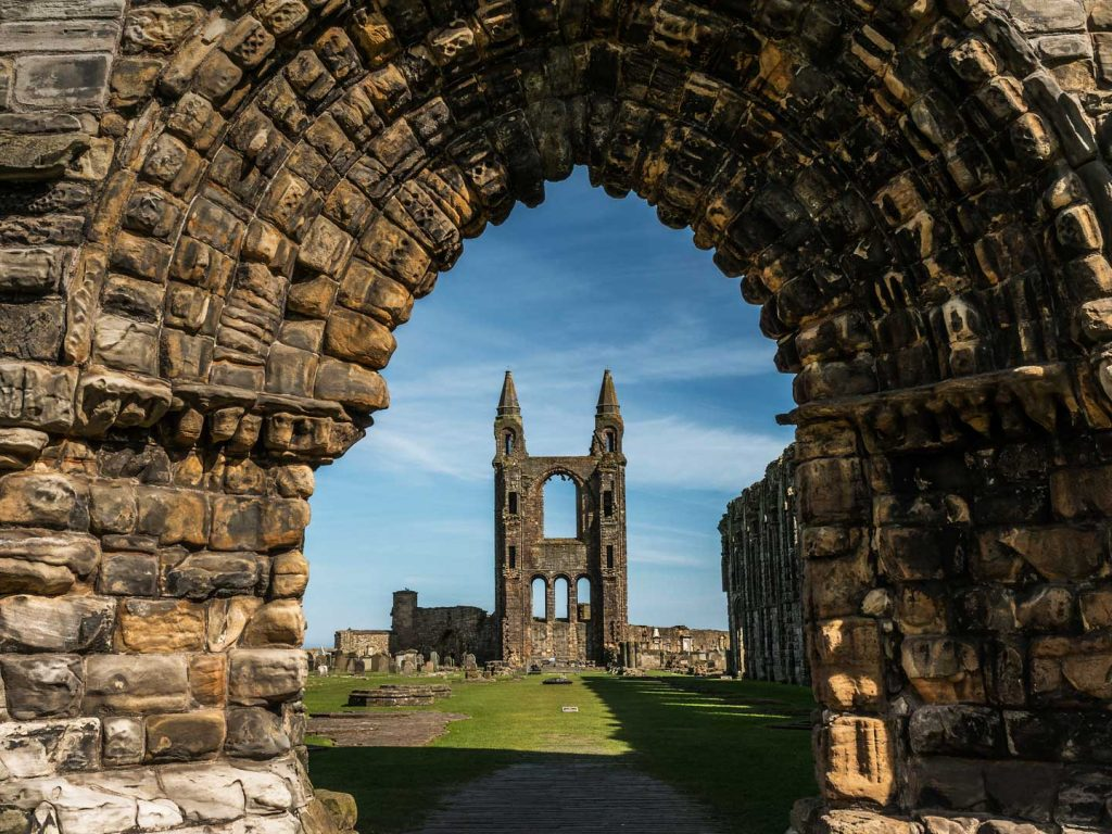 St Andrews Cathedral Bing Wallpaper Download 1024x768