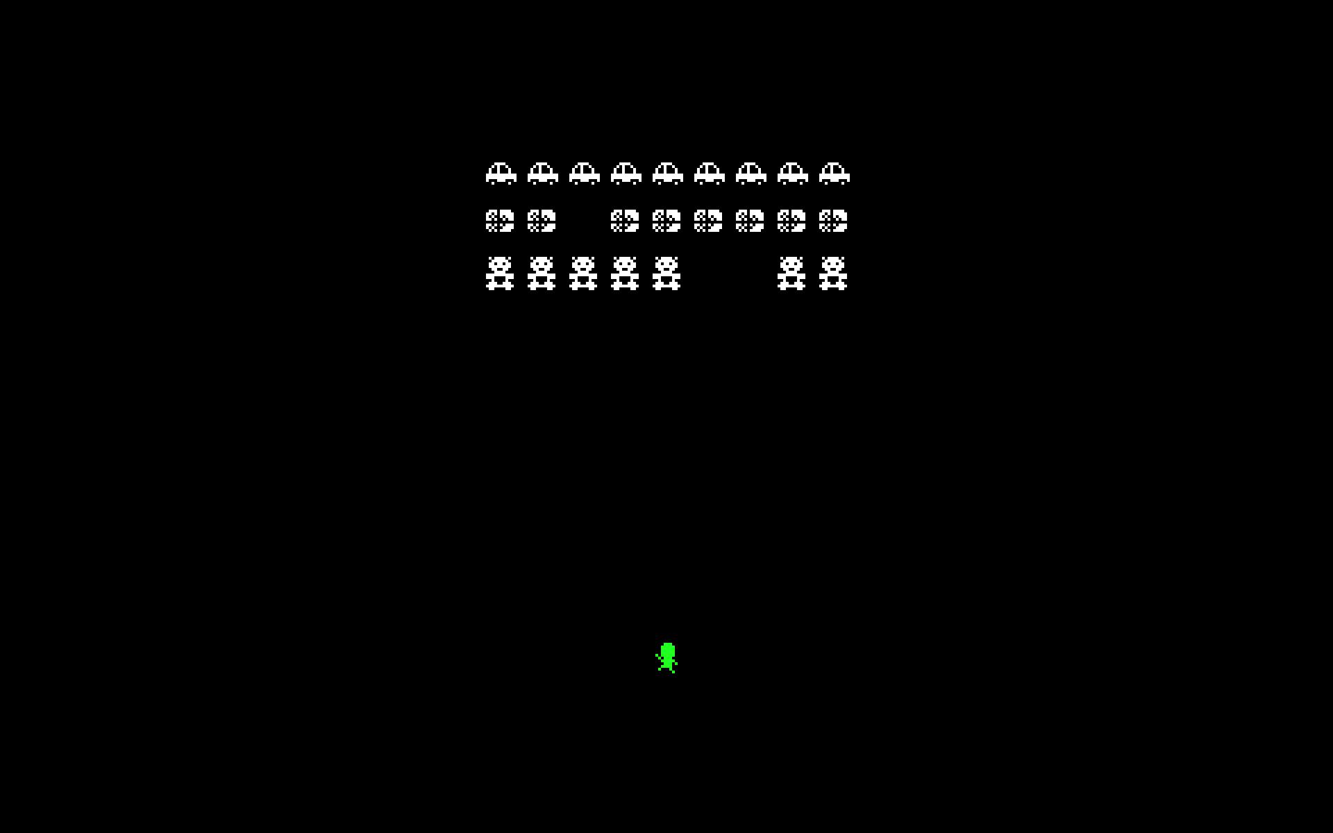 Retro Arcade Wallpaper Retro style action game 1920x1200