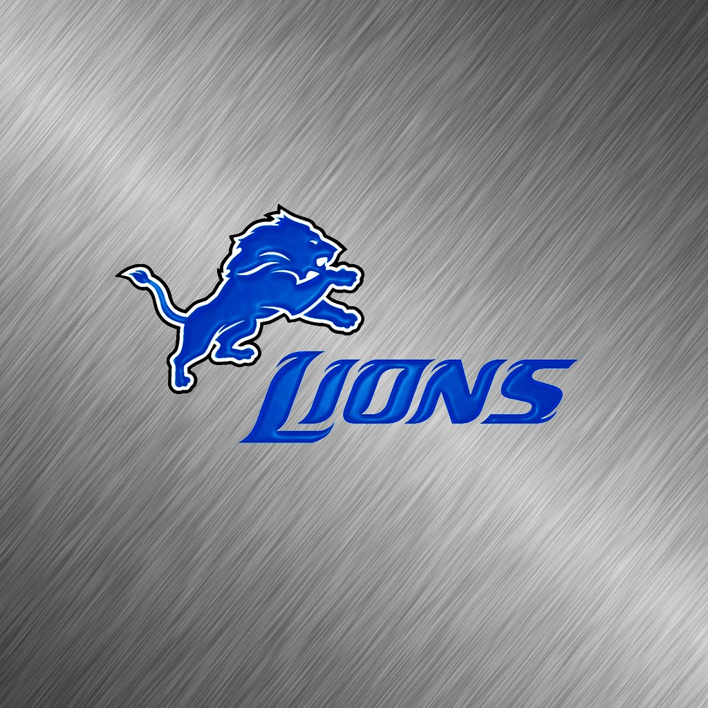 detroit lions white ipad 1024emsteeljpg phone wallpaper by 1024x1024