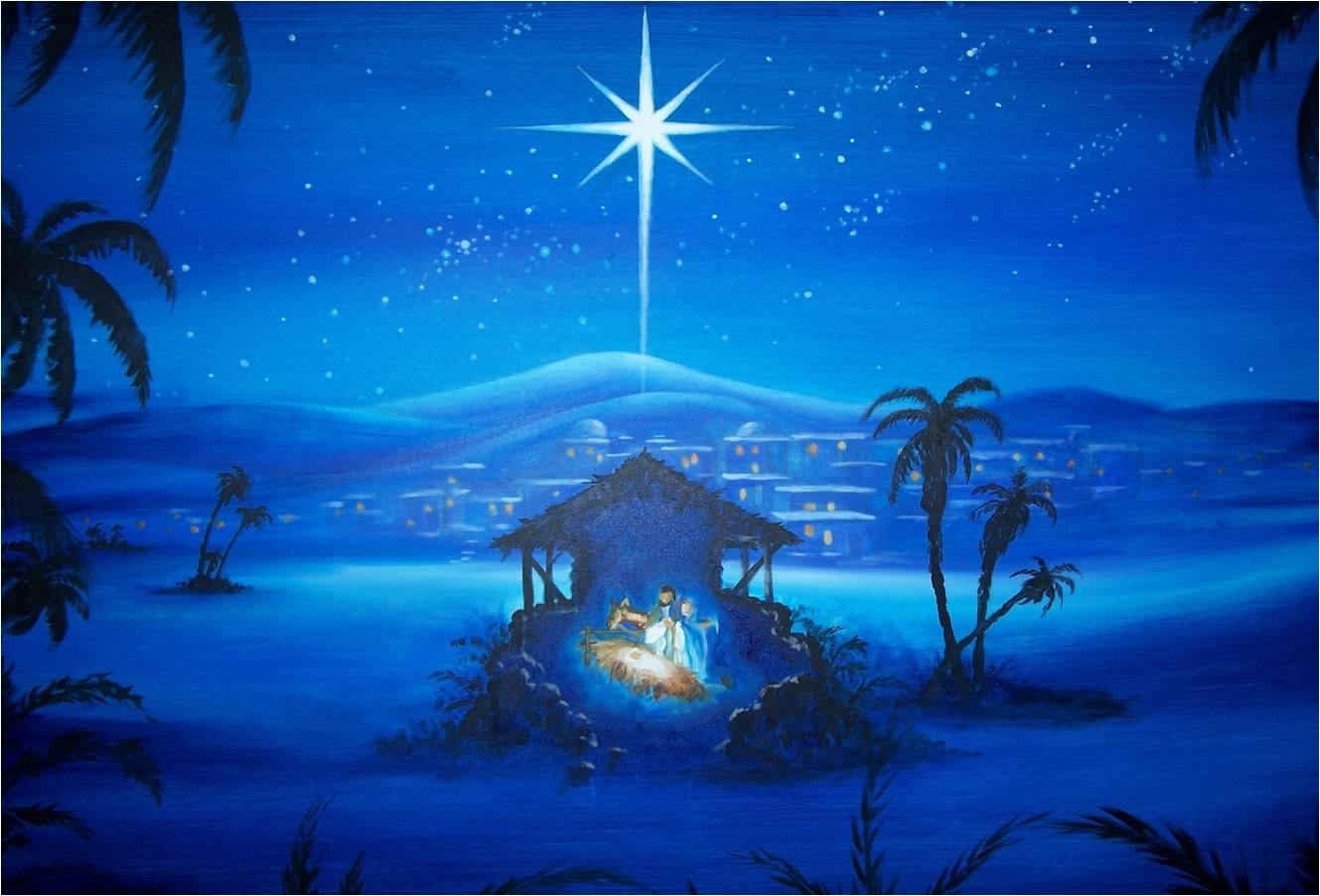 Christmas Painting Computer Wallpapers 1329x902