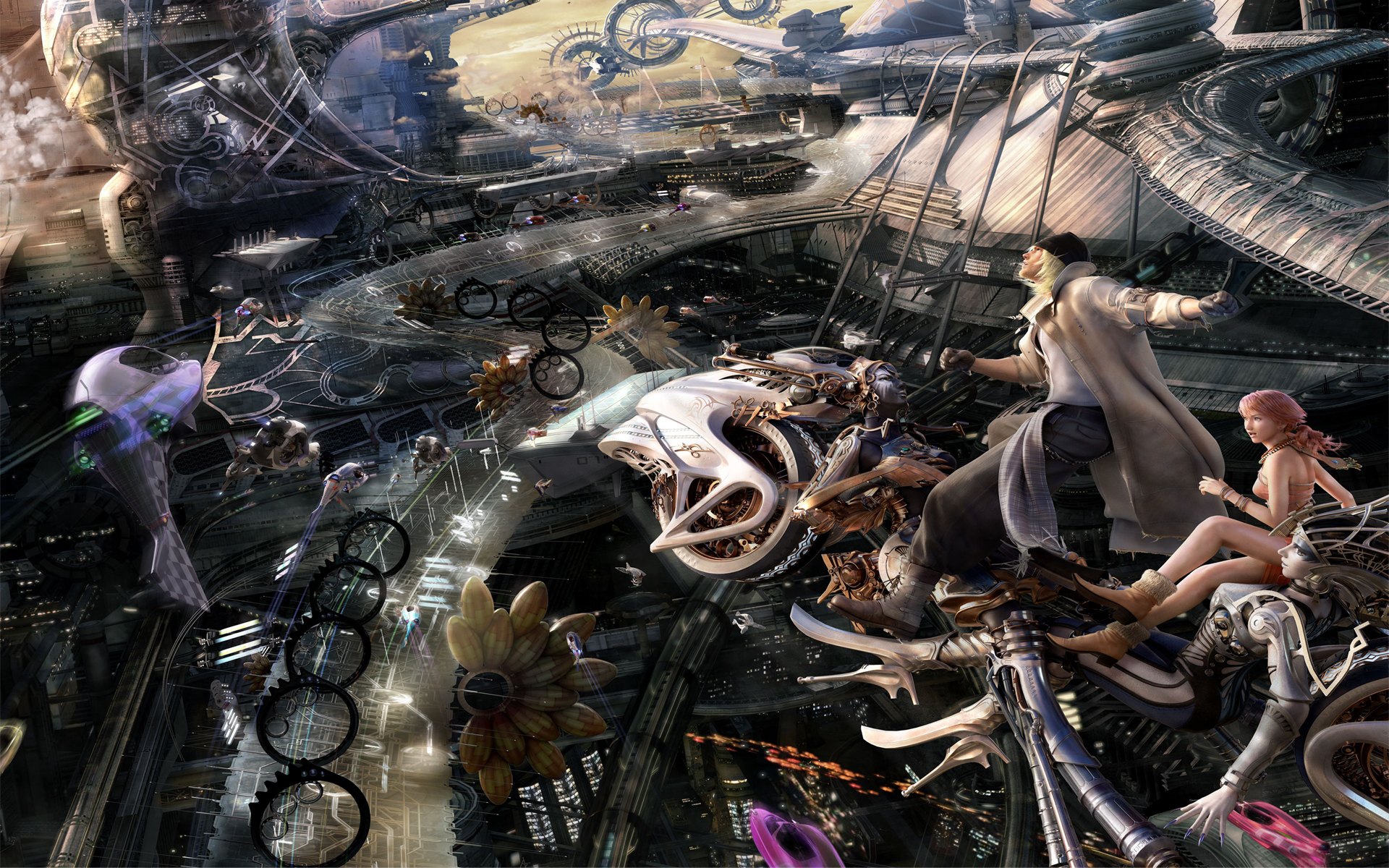 Free Download Final Fantasy 13 Wallpaper Full Hd 1080p Widescreen