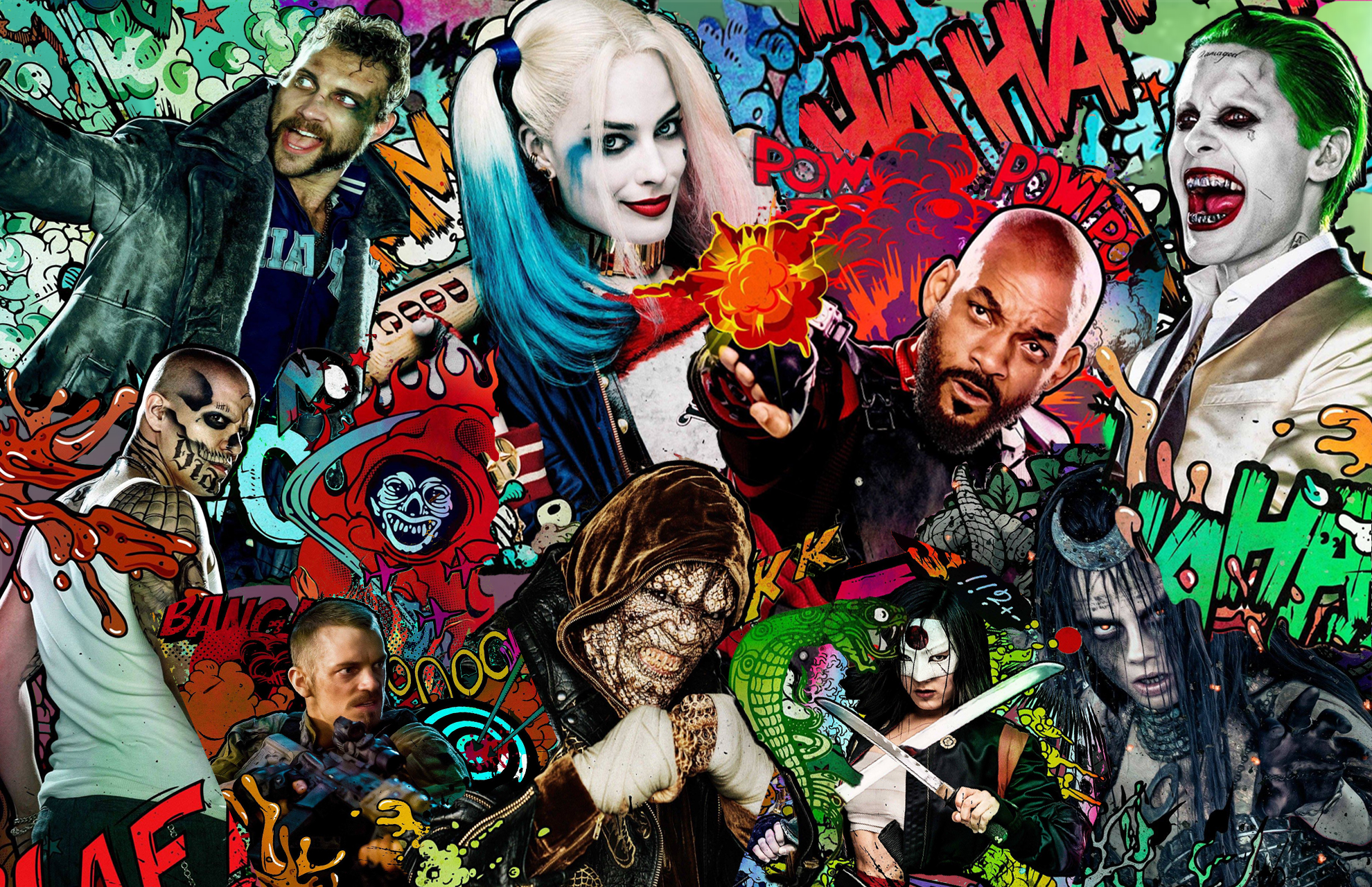 136 Suicide Squad HD Wallpapers Background Images 1980x1280