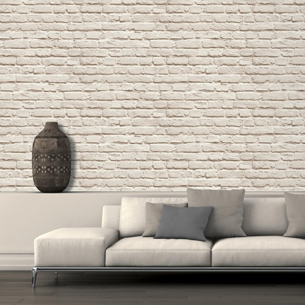 It Painted Brick Faux Stone Wall Mural Washable Vinyl Wallpaper J66507 1000x1000