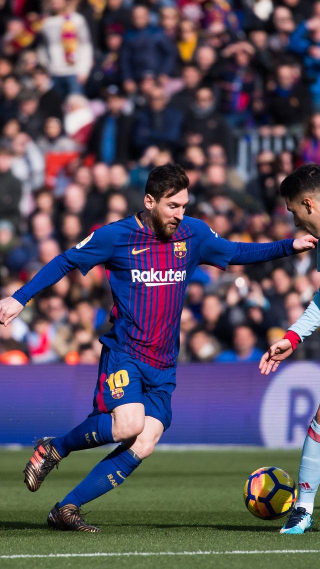Wallpaper Lionel Messi Barcelona FCB soccer 4K Sport 19806 640x1138