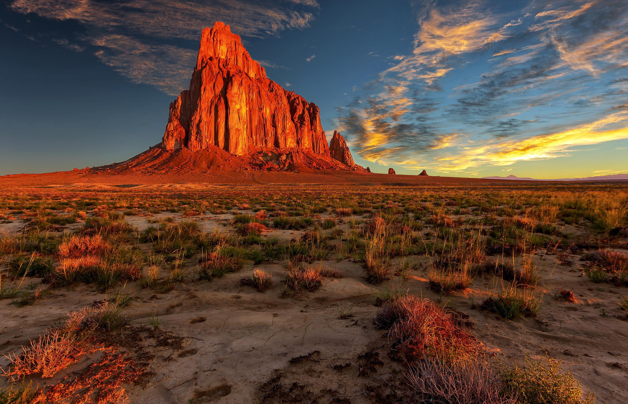 Wallpaper new mexico desert rock nature landscape wallpapers 2048x1316