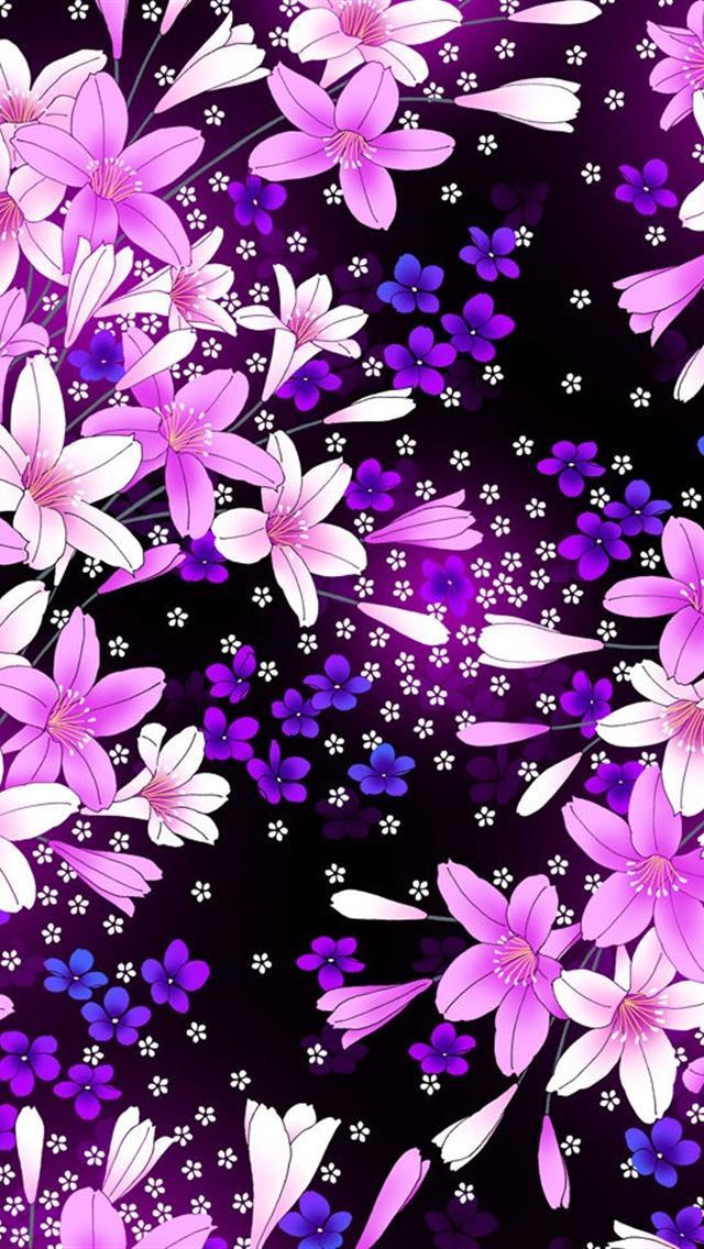 Purple iPhone 5 Wallpapers (70 Wallpapers) – Art Wallpapers