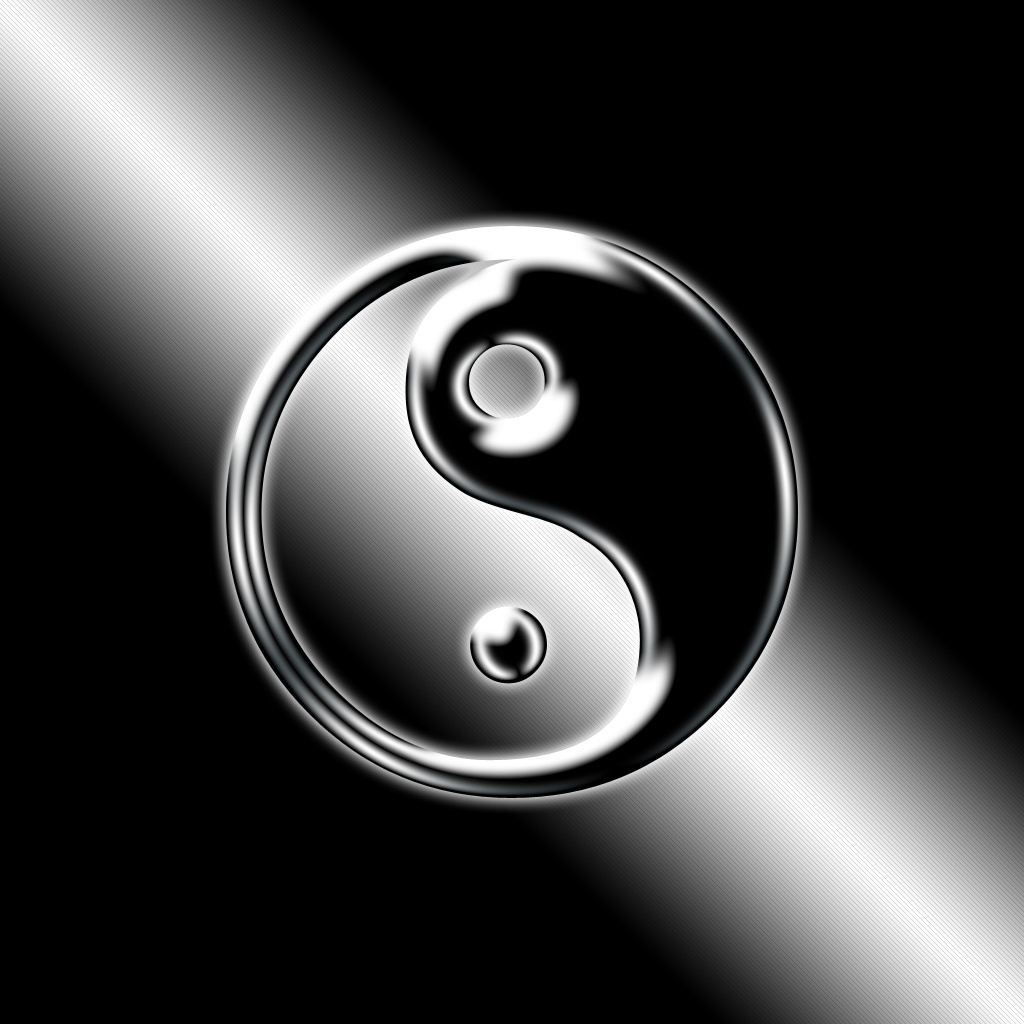 Hd Wallpaper Yin Yang Dragon House Huo Picture Pictures to 1024x1024