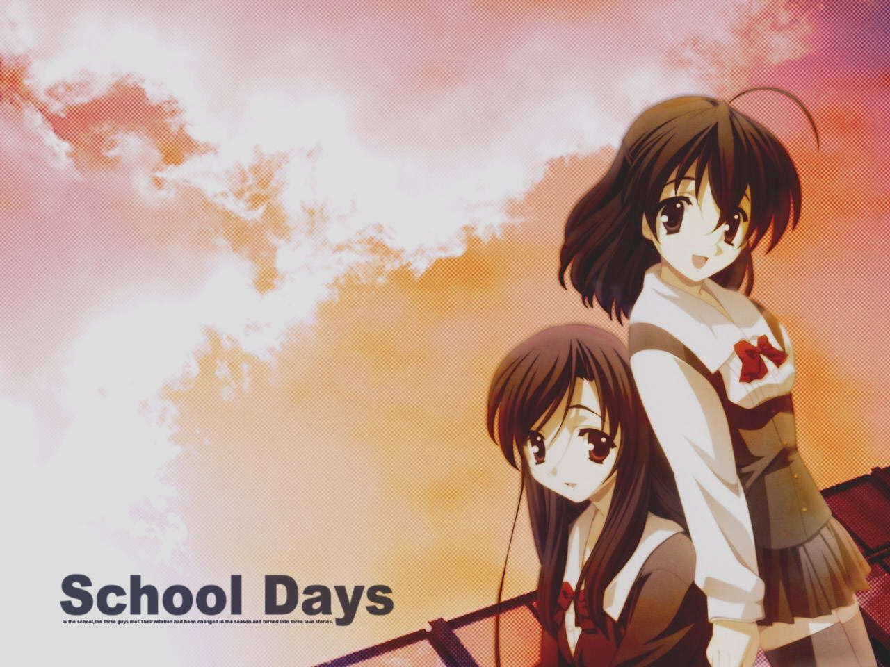 download School Days images School Days HD wallpaper and 1280x960