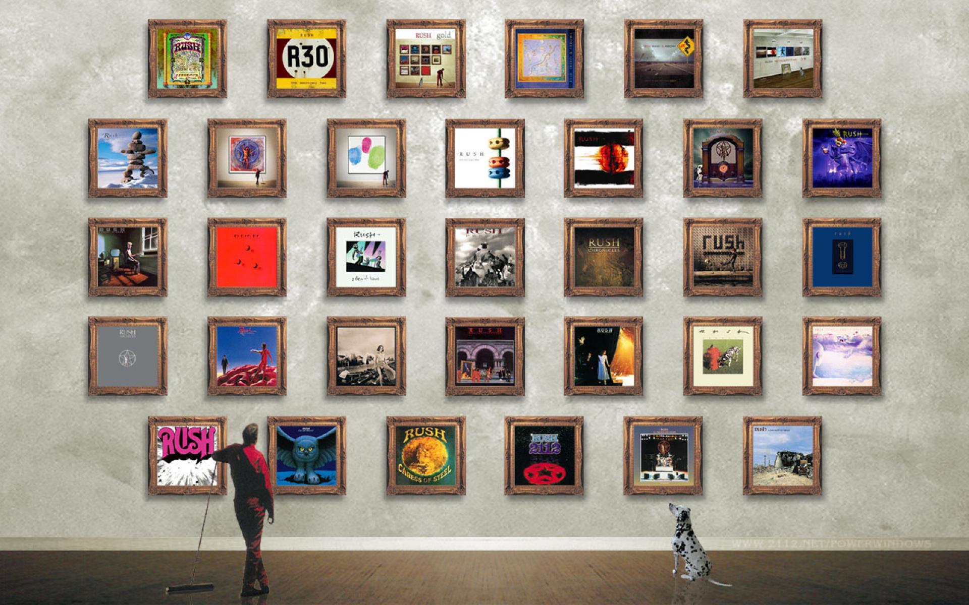 HD Rush Band Wallpapers 1920x1200
